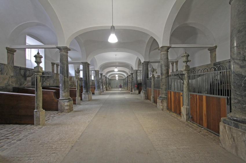 The Royal Stables at Christiansborg Castle (Copenhagen, Denmark)