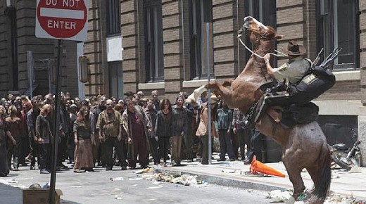 #TBT: When the Zombies Get Your Horse