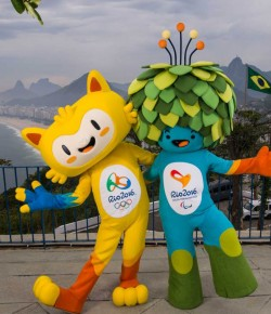 2016 Rio Mascots Join Long Lineup of Terrifying Olympic Creatures