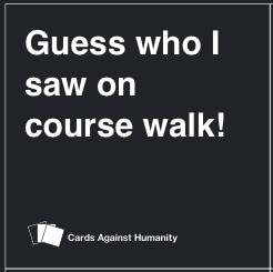 course walk