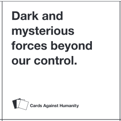 dark and mysterious