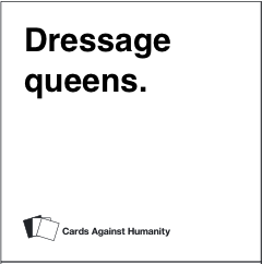 dressage queens