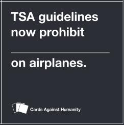tsa guidelines