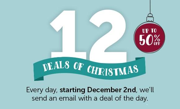 did you sign up for smartpaks 12 deals of christmas special offers were already on day 6 by monday december 7 but theres still plenty of time to - Christmas Deals 2015