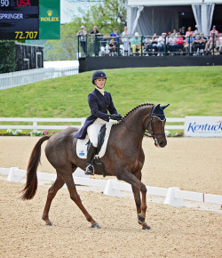 Eventing Nation Rolex Recap, Day II: Allison Springer and Arthur Move Into Second