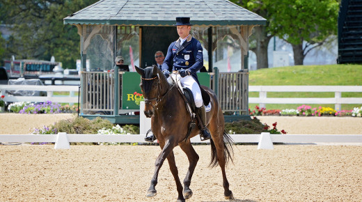 Eventing Nation Rolex Recap, Day I: Michael Jung Leads Dressage