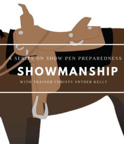 Show Pen Preparedness, Part II: Showmanship at Halter