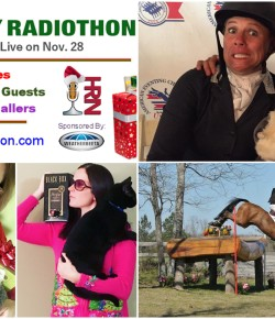 Listen Live to Horse Radio Network's Holiday Radiothon (Especially When We Take Over Tonight!)