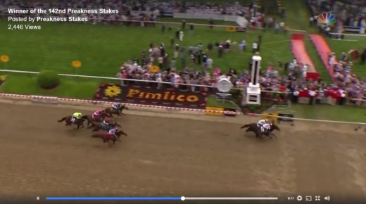 Watch: Cloud Computing Edges Classic Empire in Preakness Stakes