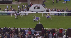 Tuesday Video: Beverley's Donkey Derby