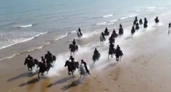 Tuesday Video: Household Cavalry Goes to the Beach