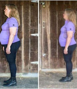 Fat to Fit to First Level:  TWENTY POUNDS GONE!