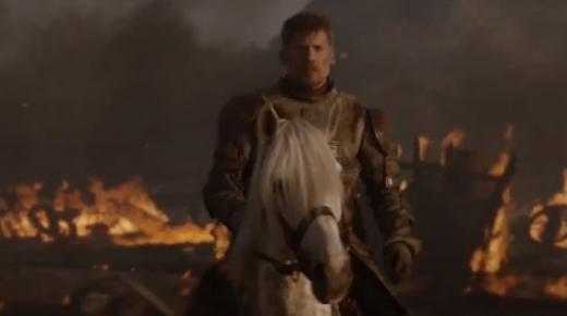 Horses In Last Night's 'Game of Thrones' vs. My Horses