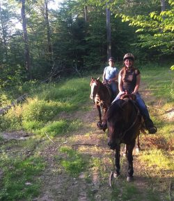 The Academic Equestrian: The First Trail Ride