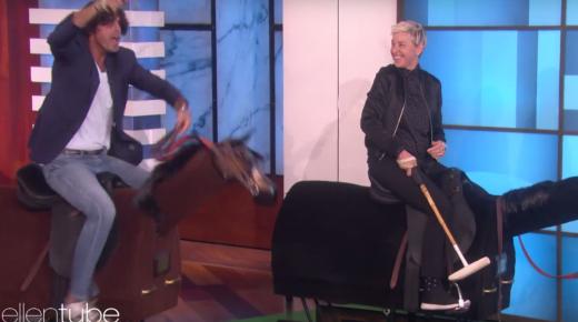 Nacho Figueras Brings Polo (& Some Wackiness) to Ellen Degeneres Show
