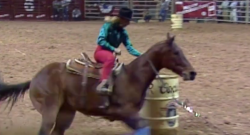 #ThrowbackThursday: NFR Broken Bridle