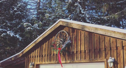 The Return of the Wagon Wheel Wreath