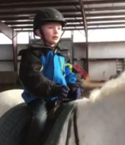 This Little Boy Refusing to Get Off His Pony is All of Us