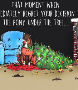 The Idea of Order: A Pony Under the Tree…