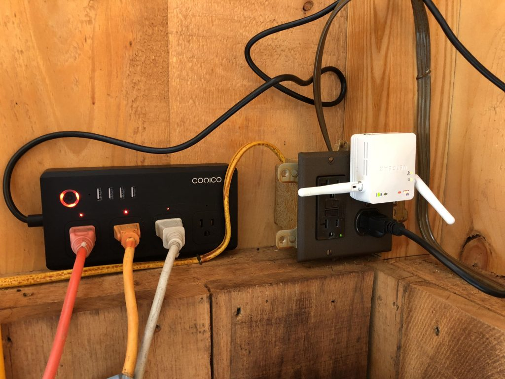 smart outlets with wifi for winter horse farm management