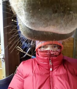 Photo Challenge: 12 Readers Dressed For Winter