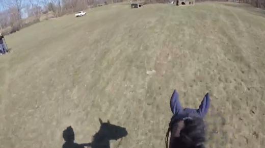 World Equestrian Brands Helmet Cam: Lainey Ashker's Motivational XC