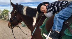 International Lesson Horse Essay Winner: Chili