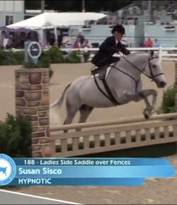 Best of JN: Susan Sisco Jumping Side Saddle
