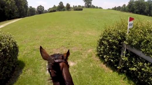 World Equestrian Brands Helmet Cam: OTTB XC