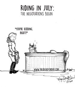 The Idea of Order: Riding in July…