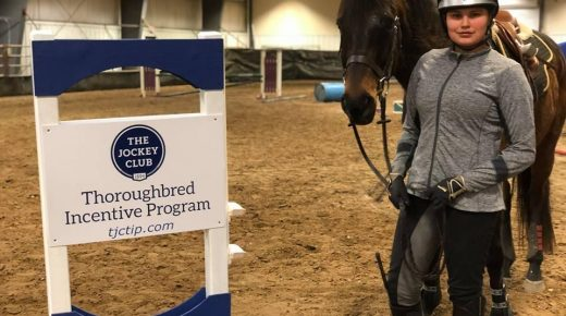 Thoroughbred Incentive Program August Youth Ambassador: Jesse Gaudry