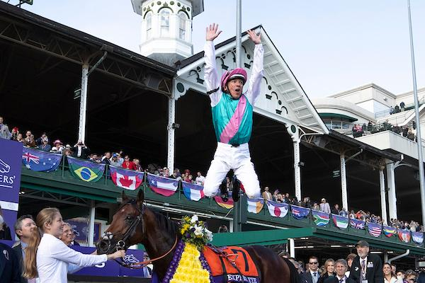 Gallery Jockeys Winning Moments From The Breeders Cup