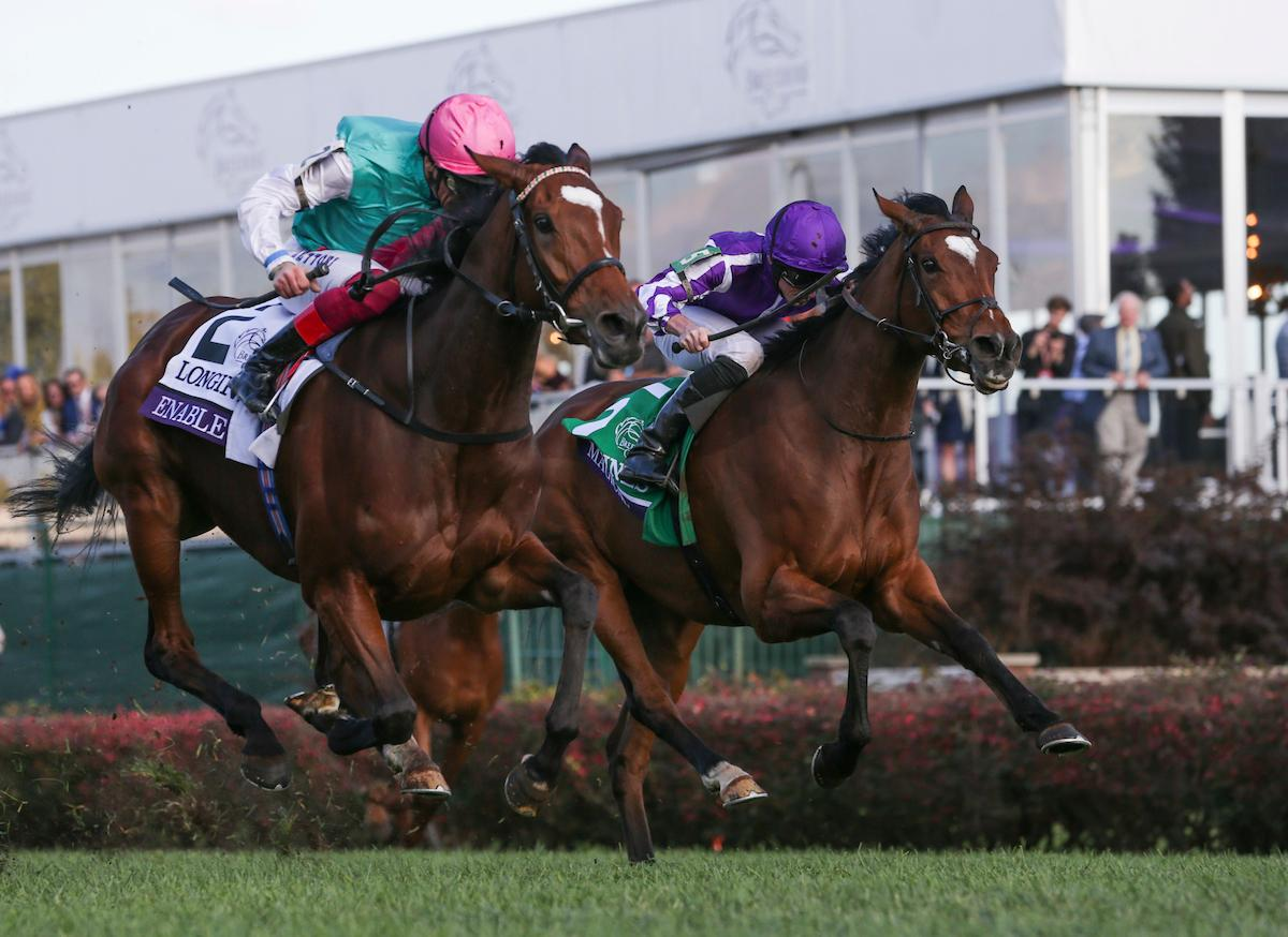 Performance Of The Week Enable Takes Breeders Cup Turf