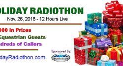 Horse Radio Network's Annual Radiothon Nov 26