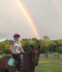Photo Challenge: Horses & Rainbows