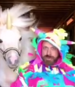 Thursday Video: Unicorn Trainer Workin' it