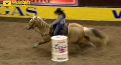 Performance of the Week: NFR Barrel Racing