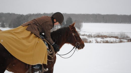Product Review: The Outlander Wool Riding Skirt by Arctic Horse