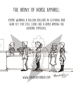 The Idea of Order: The Irony of Riding Apparel…