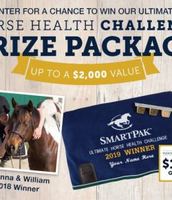 SmartPak Monday Morning Feed: Have You Started the 2019 Horse Health Challenge Yet?