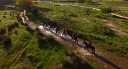 World Equestrian Brands Drone Cam: Fun With Friends