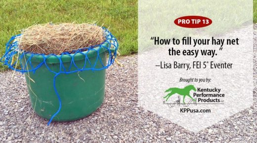 Kentucky Performance Products: How to Fill Your Hay Net the Easy Way
