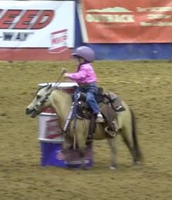 Total Saddle Fit Tuesday: The Cutest Barrel Racer You'll See This Week