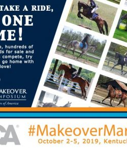 ASPCA Makeover Marketplace at the Thoroughbred Makeover: One-Stop Shopping for Sport Horses