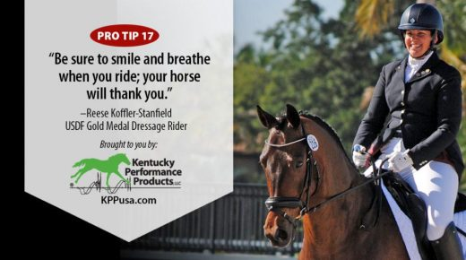 Kentucky Performance Products: Be Sure to Smile and Breathe When You Ride