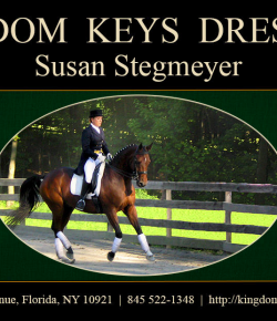 "Book Review: ""Keys to the Kingdom of Dressage"" by Susan B. Stegmeyer"