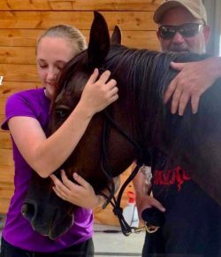 The Joy of New Homes for Auction Rescue Horses