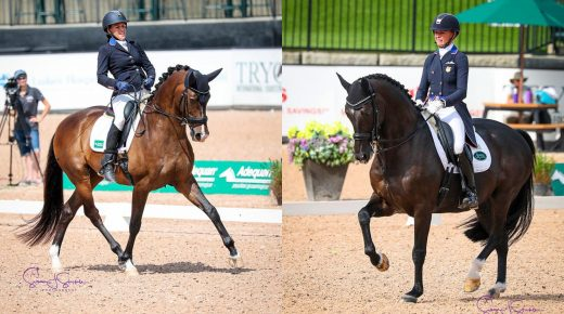 Draper Therapies Riders Katherine Bateson Chandler & Rebecca Hart Are One Step Closer to Tokyo 2020
