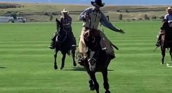 Tuesday Video: No Fence Rodeo