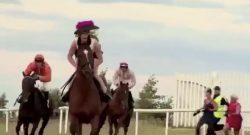 Tuesday Video: Racehorse Joy Ride